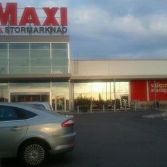 Photo taken at ICA MAXI Supermarket by Ola on 5/4/2012