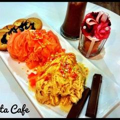 Photo taken at Festa Cafe by Marty Z. on 5/26/2012