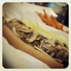 Photo taken at Jerry's Wood-Fired Dogs by ginger k. on 7/28/2012