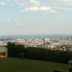 Photo taken at Krapfenwaldbad by Christian M. on 6/22/2012