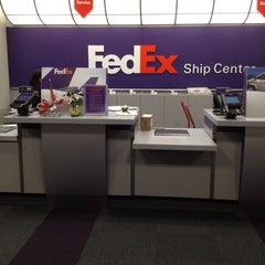 Photo taken at FedEx Ship Center by Scottly on 12/15/2011