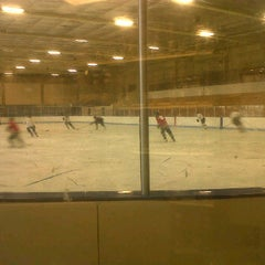 Photo taken at University of Colorado Ice Rink by Anne M. on 11/9/2011