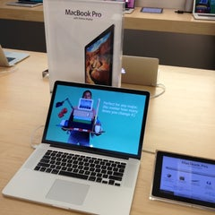 Photo taken at Apple Store, Maine Mall by Joshua on 6/29/2012