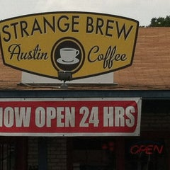 Photo taken at Strange Brew Austin Coffee by Michael F. on 6/10/2012
