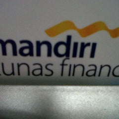 Photo taken at MANDIRI TUNAS FINANCE by risma s. on 1/9/2012