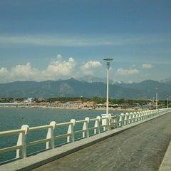Photo taken at Forte Dei Marmi by Stefano M. on 6/19/2012