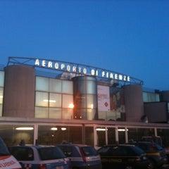 """Photo taken at Aeroporto di Firenze """"Amerigo Vespucci"""" (FLR) by Freddy P. on 5/7/2011"""