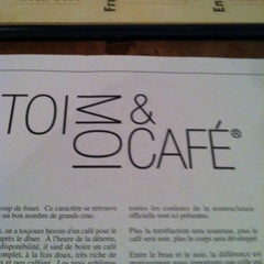 Photo taken at Toi, Moi & Café by Pierre B. on 6/2/2012