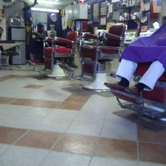 Photo taken at high point barber shop by Donnie S. on 8/4/2011