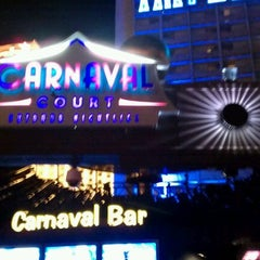 Photo taken at Carnaval Court Bar & Grill by DJ D. on 2/12/2012