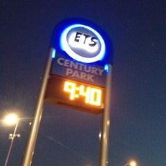 Photo taken at Century Park LRT Station by Jerry A. on 8/16/2012