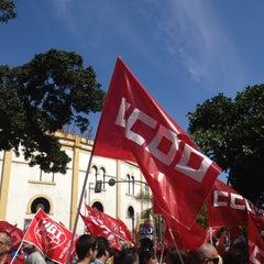 Photo taken at Ramblas de Santa Cruz by Enrique R. on 3/11/2012
