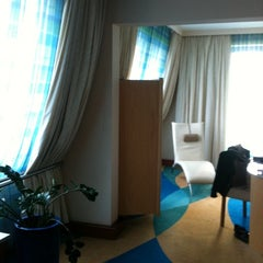 Photo taken at Radisson Blu Hotel Kraków by Lyuba P. on 10/4/2011
