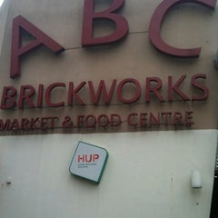 Photo taken at ABC Brickworks Market & Food Centre by Sunny B. on 5/29/2011