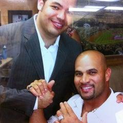 Photo taken at Jordan Sport Barber Shop by Mannyjr on 4/13/2012