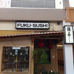 Photo taken at Fuku Sushi by that girl on 5/15/2012