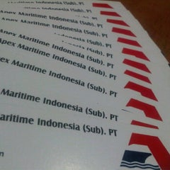 Photo taken at Ruko permata bintoro jl. Taman Ketampon Surabaya by Ika S. on 2/24/2012