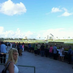 Photo taken at Gulfstream Park Racing and Casino by Silvano on 3/18/2012