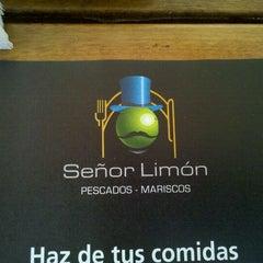 Photo taken at Señor Limón by Cristhiam A. on 11/26/2011