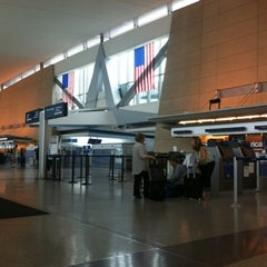 Photo taken at Buffalo Niagara International Airport (BUF) by 黄友妮 D. on 7/19/2012