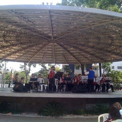 Photo taken at Praça Da Matriz by Carla C. on 3/10/2012