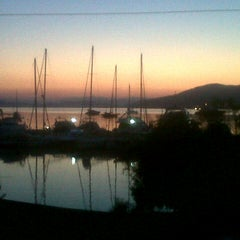 Photo taken at Torba Plajı by Eser M. on 8/17/2012