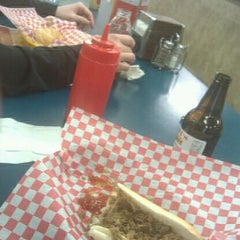 Photo taken at Barry's Steaks by Jonathon Q. on 1/27/2012