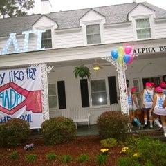 Photo taken at Alpha Delta Pi by Gabie C. on 9/21/2011