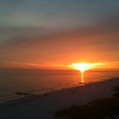 Photo taken at Madeira Beach by Deana M. on 7/26/2011