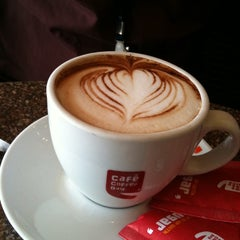 Photo taken at Cafe Coffee Day by Prasoon K. on 2/16/2012