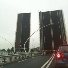 Photo taken at Julianabrug by Pizzakoerier on 7/18/2012