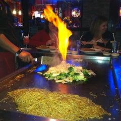 Photo taken at Saga Steakhouse & Sushi Bar by Erin on 12/17/2011
