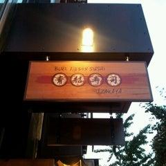 Photo taken at Blue Ribbon Sushi Izakaya by Ms. Chan C. on 6/20/2012