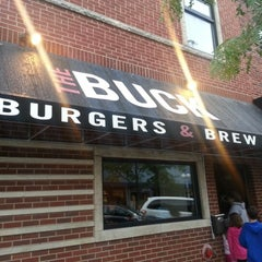 Photo taken at The Buck Burgers & Brew by Travisimo! on 8/10/2012