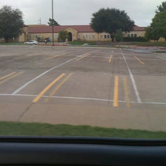 Photo taken at Garland High School by Connie W. on 5/1/2012