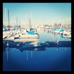 Photo taken at Berkeley Marina by Riam on 1/5/2012