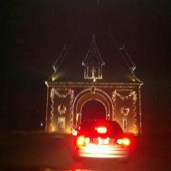 Photo taken at Biltmore Estate Main Gate by Karin B. on 12/21/2011