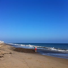 Photo taken at Malibu Public Beach by Justin K. on 7/23/2011