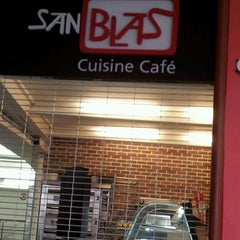 Photo taken at San Blas Cuisine Café by Alberto E. on 7/9/2012