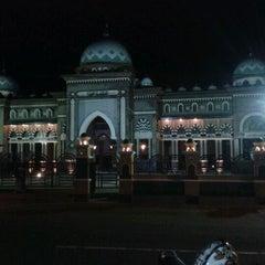 Photo taken at Alun - Alun Banjarnegara by Wildan M. on 1/28/2012