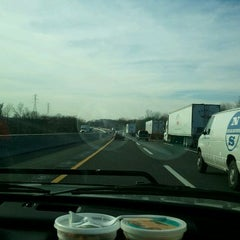 Photo taken at New Jersey Turnpike - Cherry Hill by Heisenberg on 12/22/2011