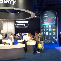 Photo taken at BlackBerry #CES Booth 30326 by @VegasBiLL on 1/13/2012