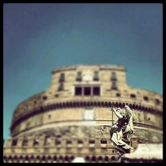 Photo taken at Giardini di Castel Sant'Angelo by edmond G. on 8/15/2012