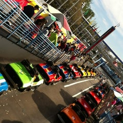 Photo taken at Tomorrowland® Speedway by Dr. A on 3/4/2012