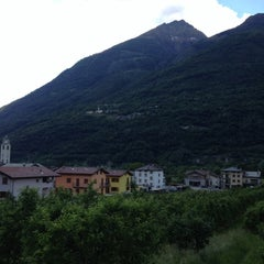 Photo taken at Mazzo di Valtellina by Antonio L. on 5/29/2012
