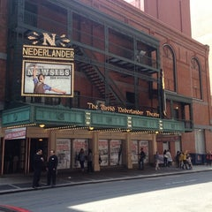 Photo taken at Nederlander Theatre by Robert A. on 4/21/2012