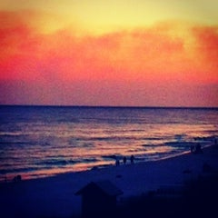 Photo taken at Destin Beach by Kelsey S. on 5/29/2012