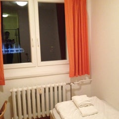 Photo taken at A&O Hotel & Hostel Dresden by Patrick H. on 5/18/2012