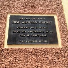 Photo taken at Casa Museo José Alfredo Jiménez by Gus V. on 9/2/2012