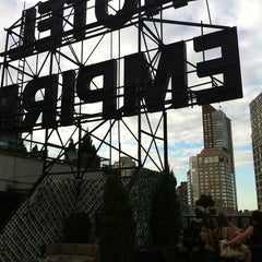 Photo taken at The Empire Hotel Rooftop by Bernie M. on 7/21/2012
